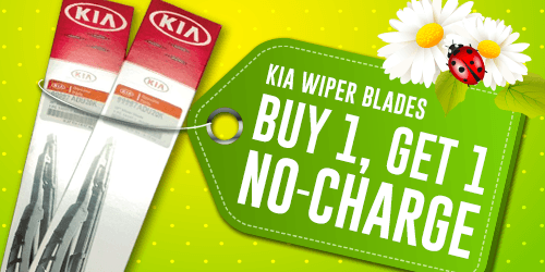 Kia Wiper Blades Special
