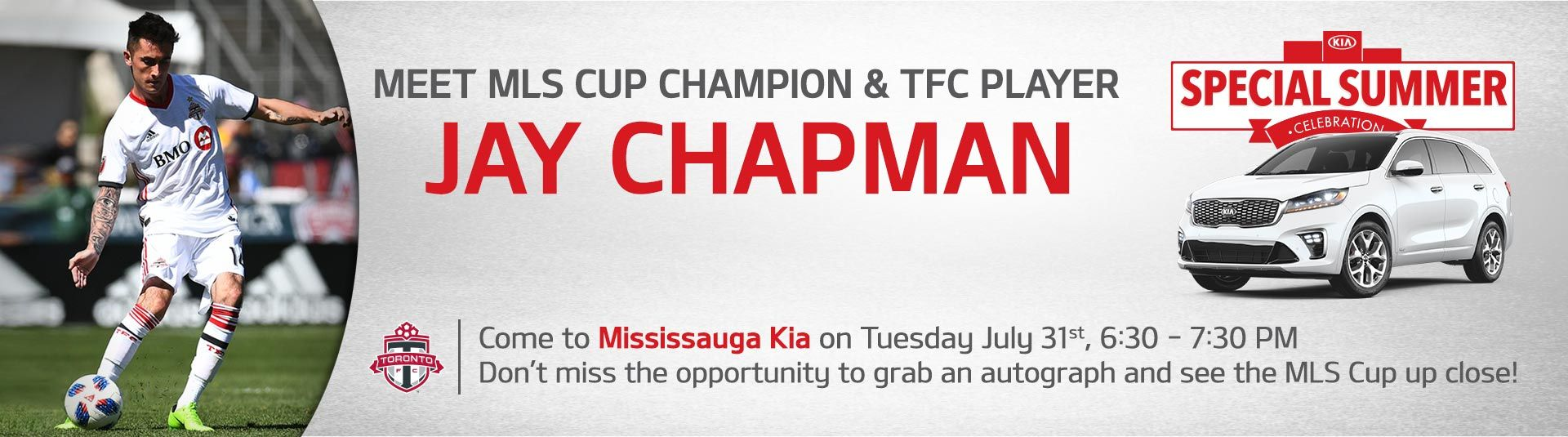 TFC Player Event at Mississauga Kia