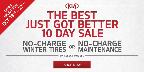 Mississauga Kia 10 Days Sale Event