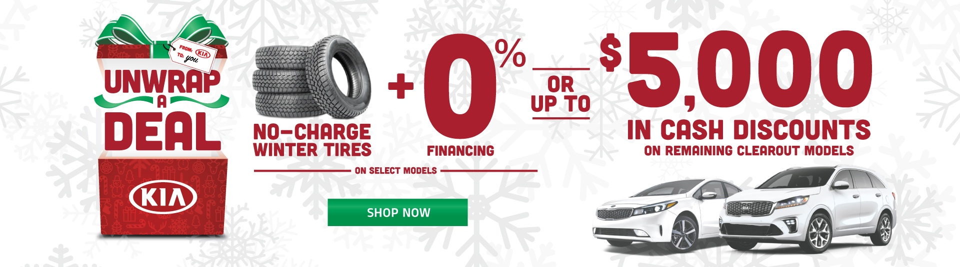 Mississauga Kia Unwrap A Deal Offer