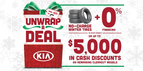 Mississauga Kia Unwrap A Deal Offers