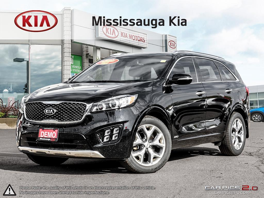 2017 Kia Sorento SX Turbo Demo