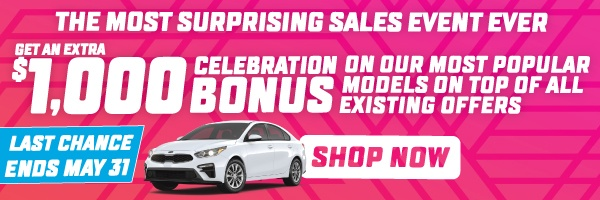 The Most Surprising Sales Event Ever - Mississauga Kia