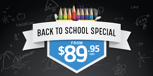 Back to School Service Offer
