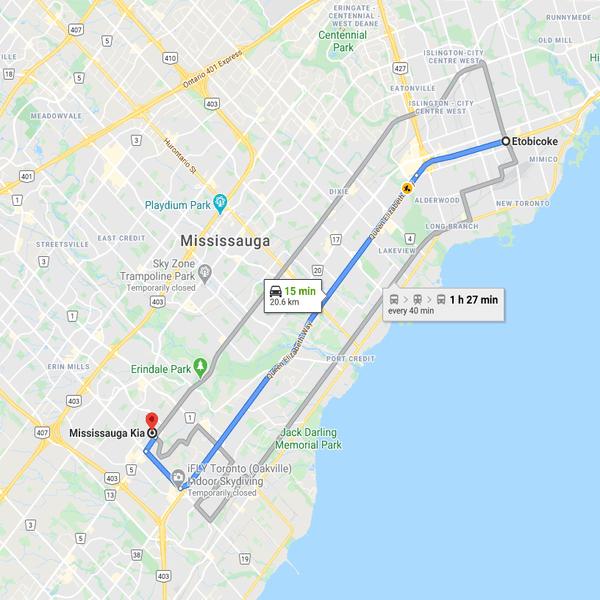 Kia Dealership Near Etobicoke, Toronto