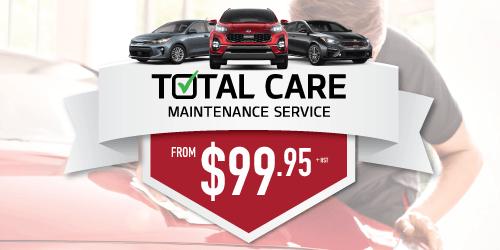 Kia Total Care Maintenance Service