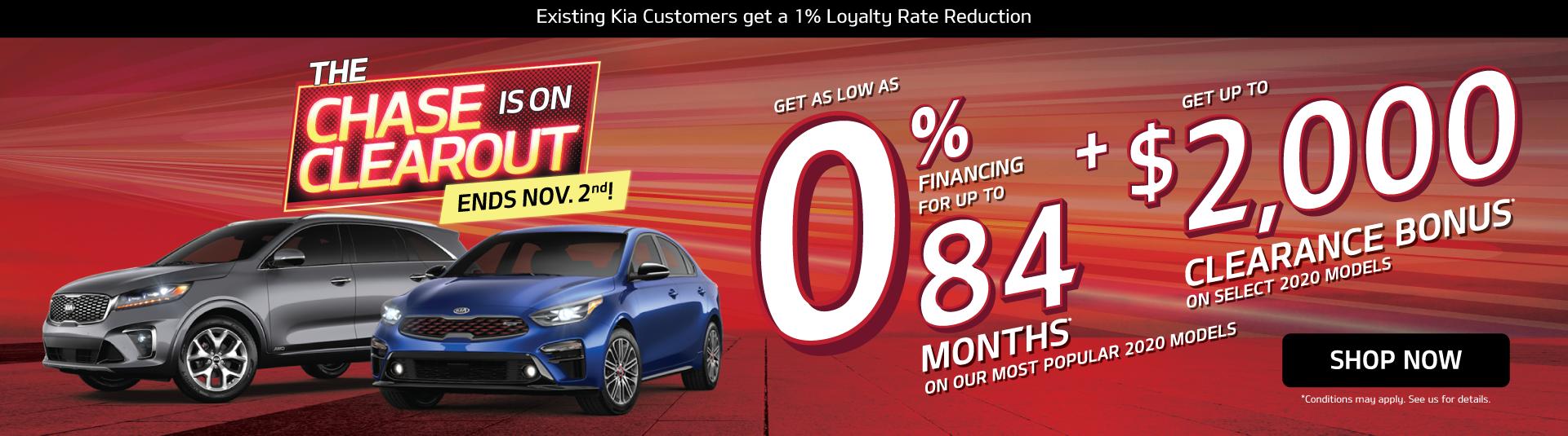 Kia The Chase is On Mississauga Kia - Kia Deals and Offers
