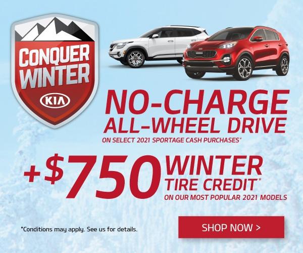 Mississauga Kia Conquer Winter Kia Special