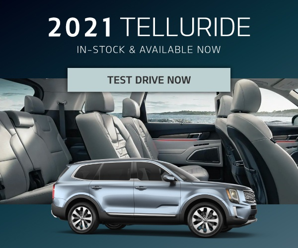 Test Drive the 2021 Kia Telluride at Mississauga Kia