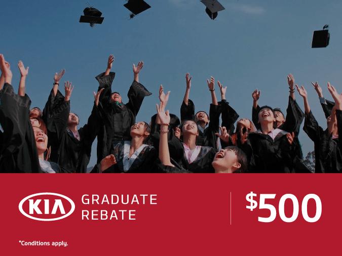 $500 New Graduate Bonus at Mississauga Kia