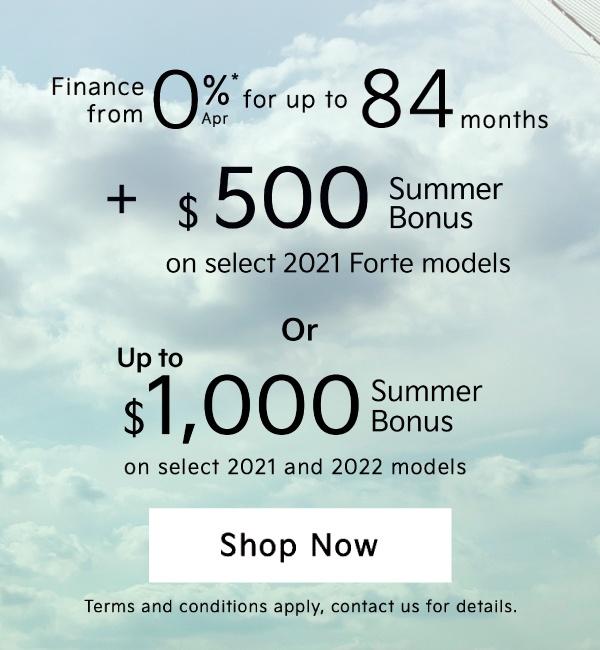 Mississauga Kia Summer Bonus 2021